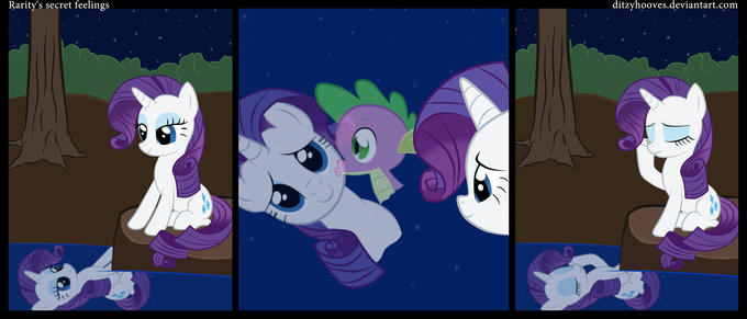 Rarity's secret feelings