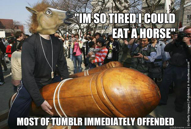 tumblr horse meat