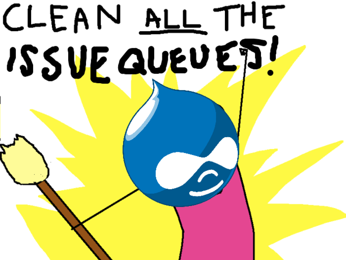 Clean all the Issue Queues!