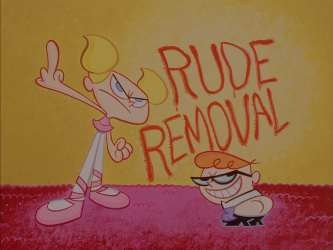Rude Removal Lost Episode Title