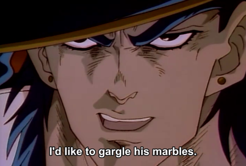 Gargle his Marbles