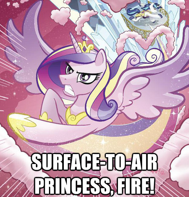surface-to-air princess, FIRE!