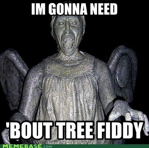 The Weeping angel bent down and said.....