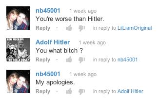 Hitler Takes Offense