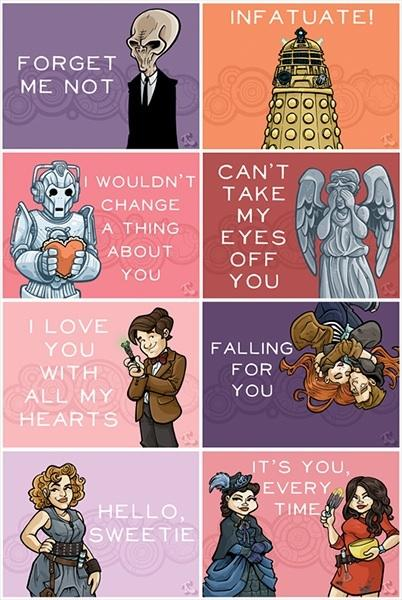 Valentines day in Space and Time