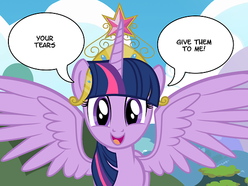 All your tears belong to Alicorn Twilight