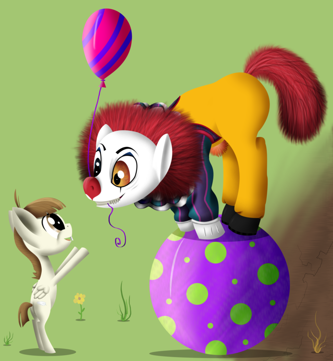 Mr. Pennywise Pony