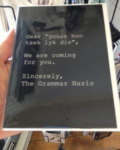 Bookshop Card