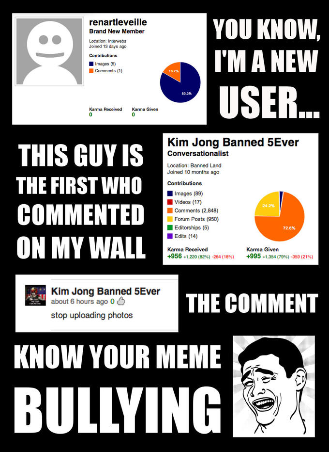 Know your meme bullying