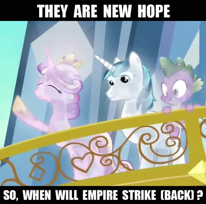 And when will jedi (I mean Spike) return ?
