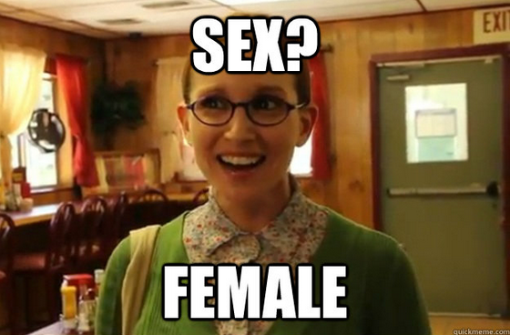 Sexually Oblivious Female