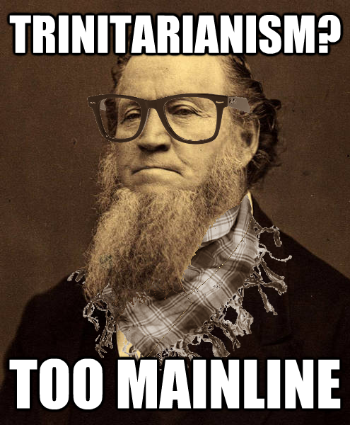 Hipster Brigham Young