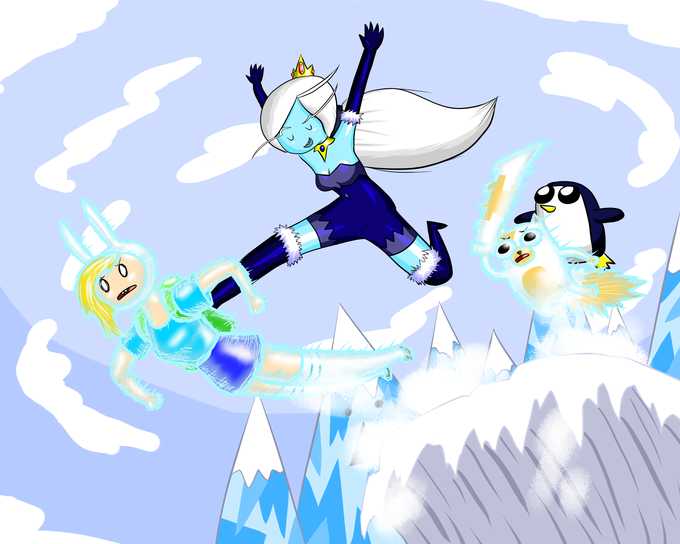 Fionna The Hu---Snowboard?