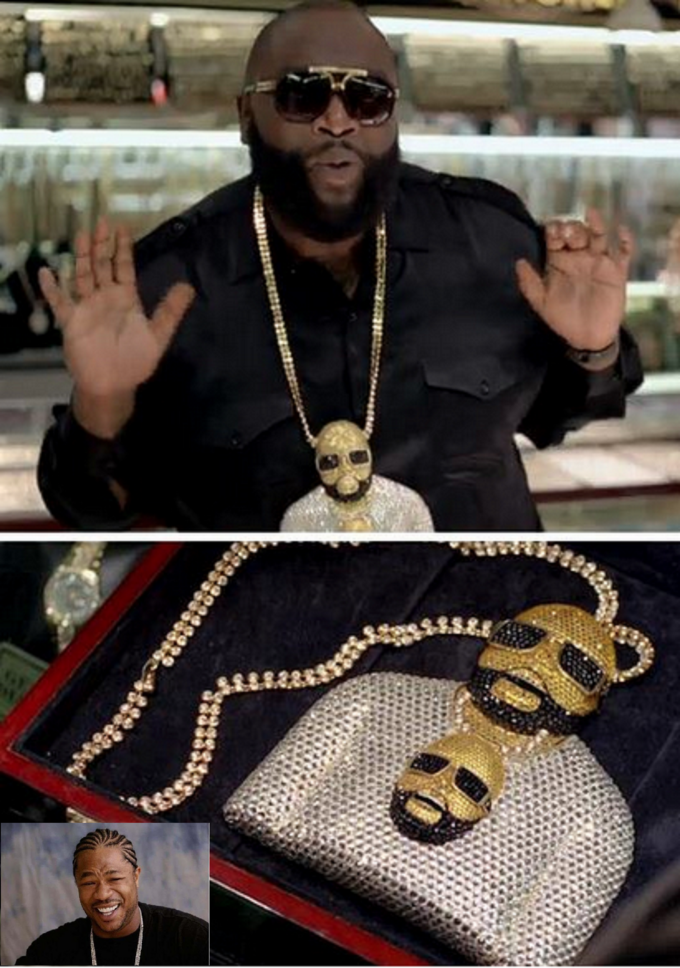 Rick Ross with Rick Ross?