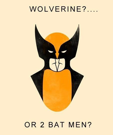 Wolverine or 2 Batmans