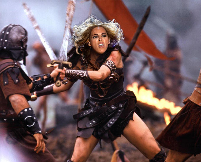 Beyonce warrior princess