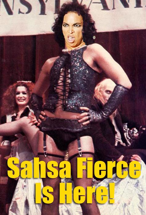 Beyonce is Sasha Fierce