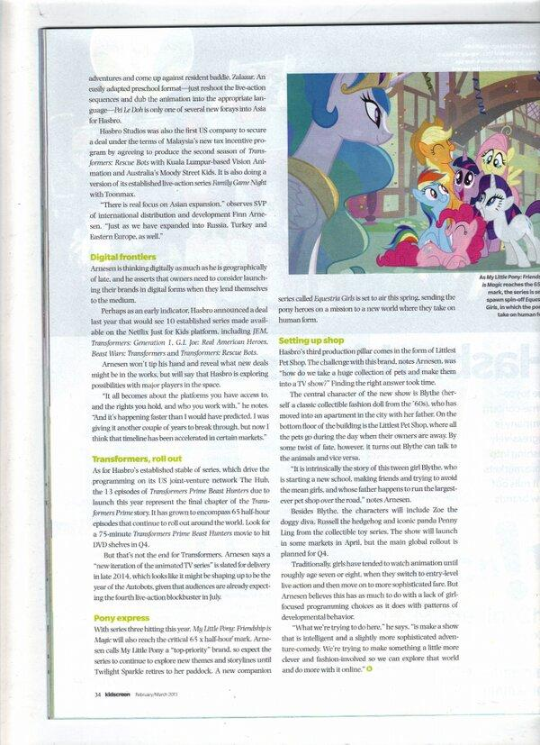 Full article on Equestria Girls