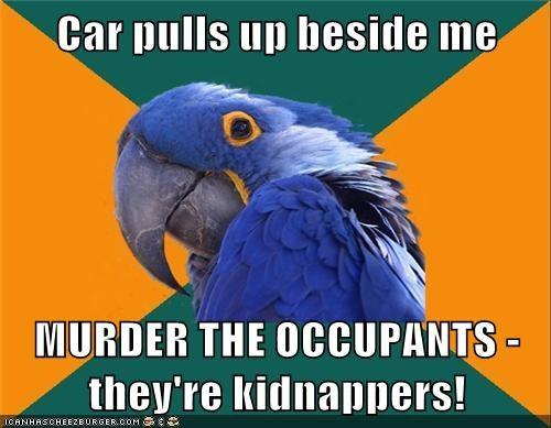 I REFUSE TO BE KIDNAPPED