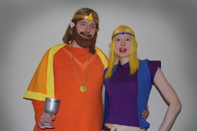 Zelda CD-i: The King and Princess Zelda by LysiaAdventures
