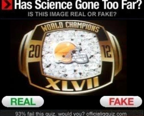real or fake : NFL editon