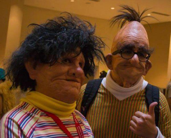 Creepy Bert & Ernie Costumes