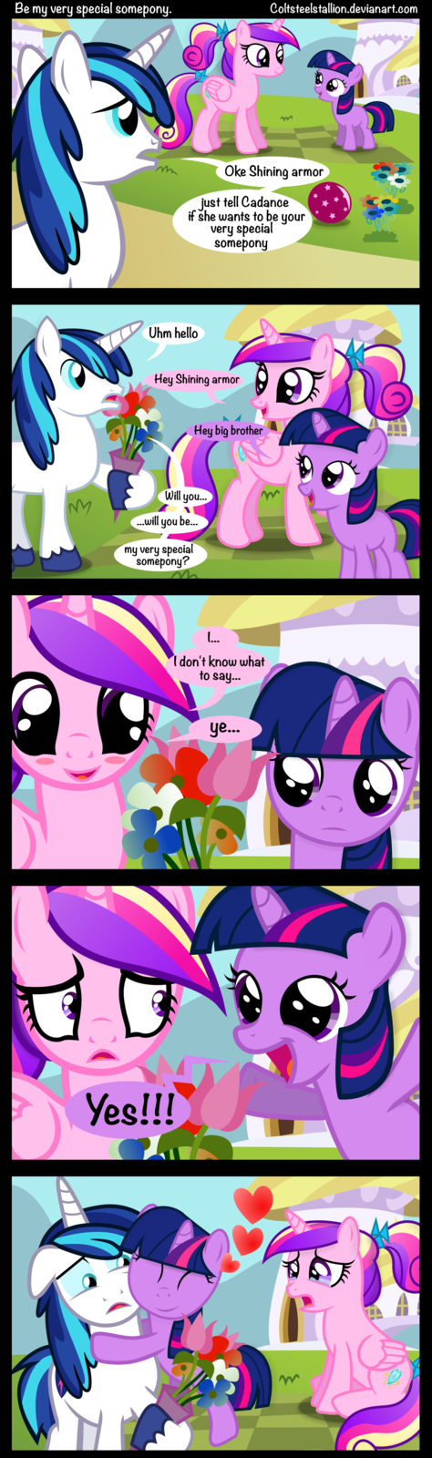 Be my very special somepony