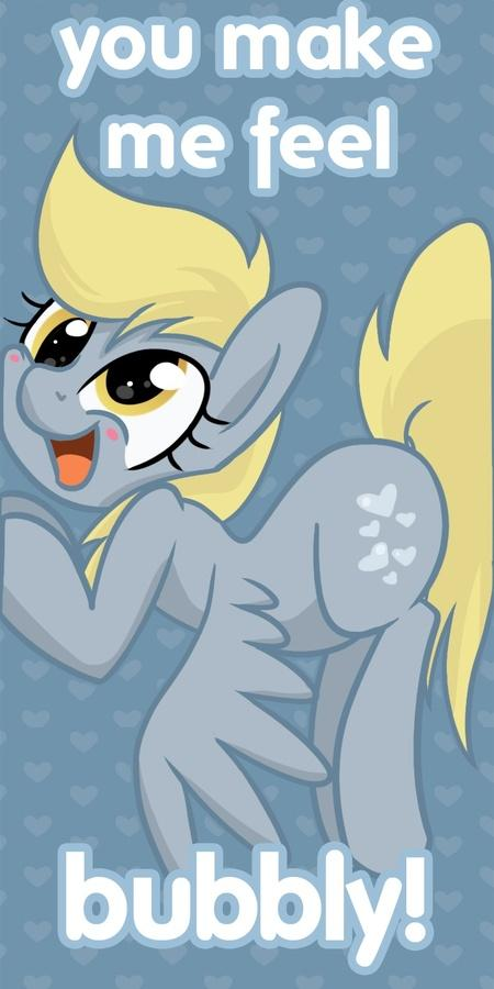 Derpy Hooves Valentine's Day Card