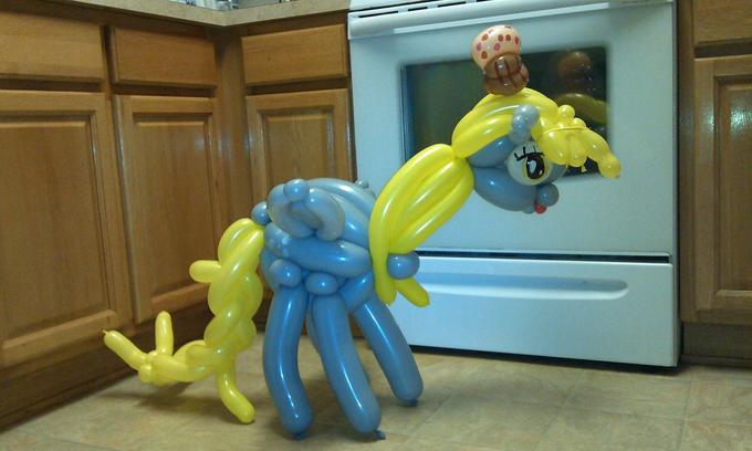 Derpy Balloon Animal