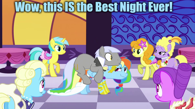 Rainbow Dash's Best Night Ever