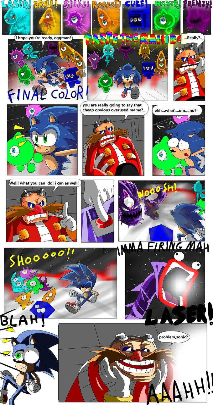 Sonic Colors and Memes