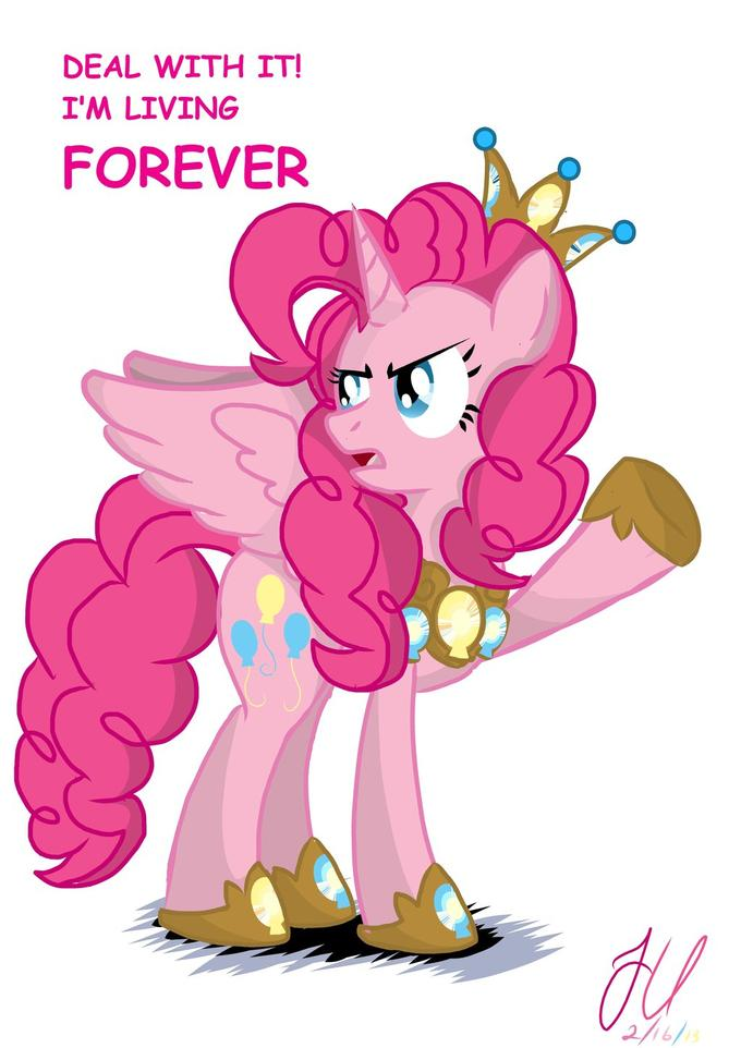 Annoyed Princess Pinkie Pie