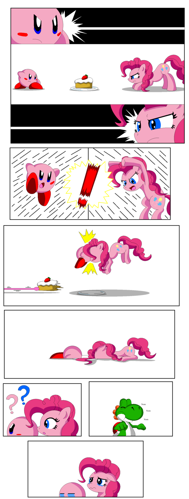 Pinkie Pie vs Kirby
