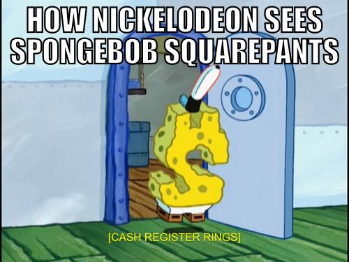Spongebob=Money