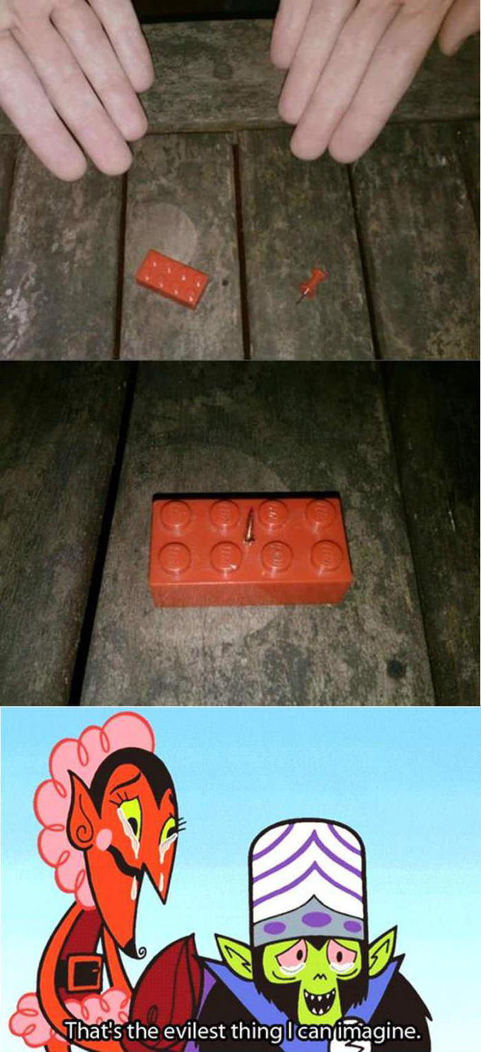You Think Lego Hurts?