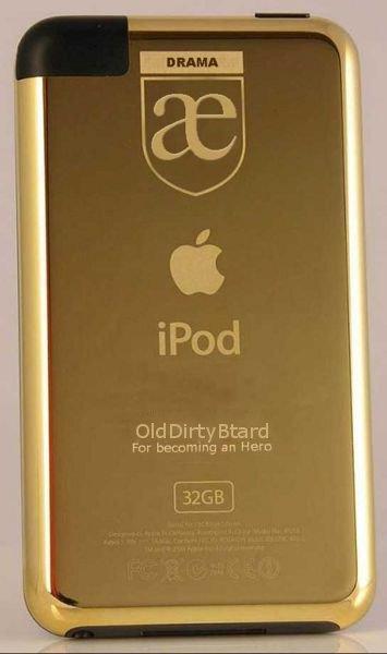 Golden iPod award - for becoming An Hero