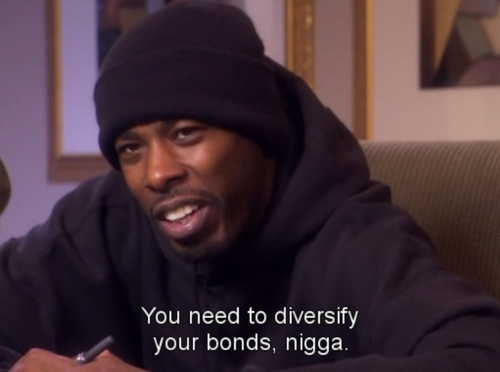 diversify your bonds nigga