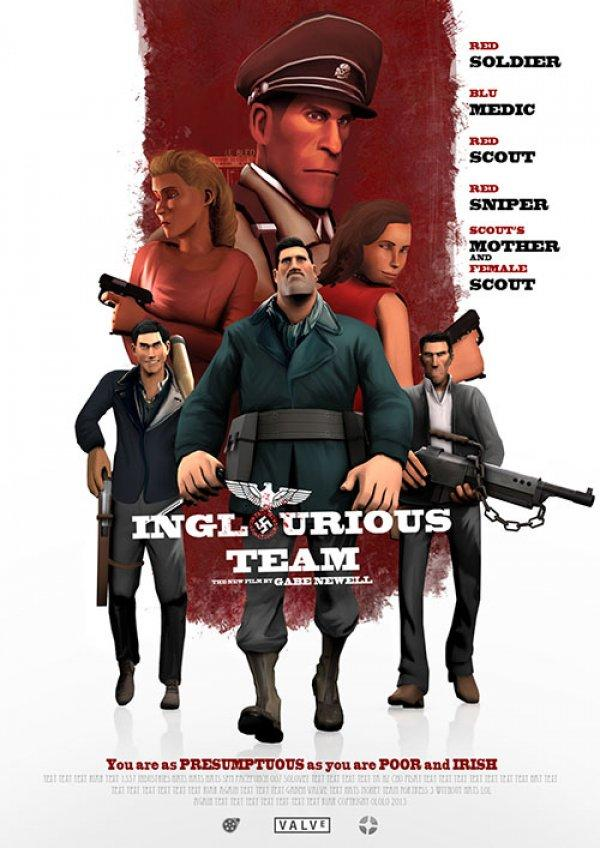If Quentin Tarantino Played Team Fortress 2