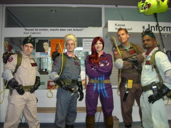 The Real Ghostbusters Cosplayers
