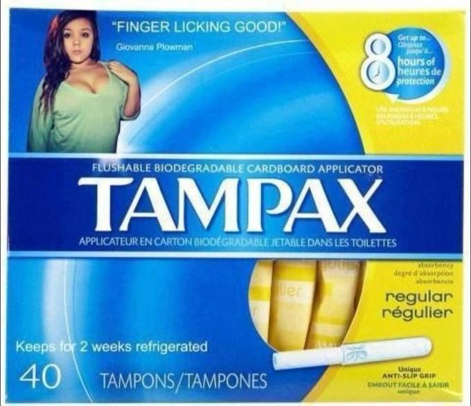 Finger Licking Good Tampax
