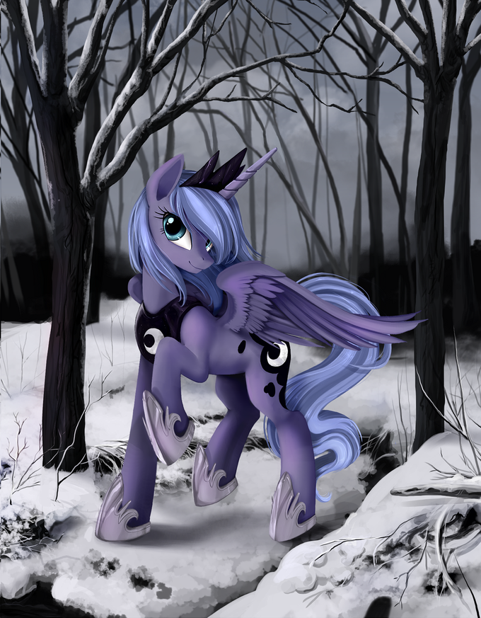 Ponykillerx's new Luna art