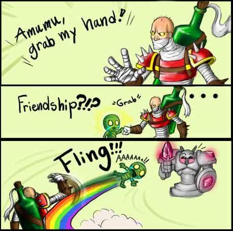 Amumu! Grab My hand! Friends?