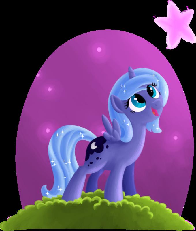 My little pony filly luna - photo#18