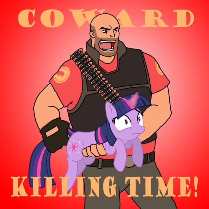 Coward Killing Time