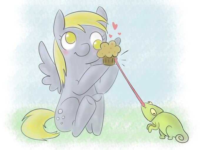 It's hers fair and square. (Derpy)