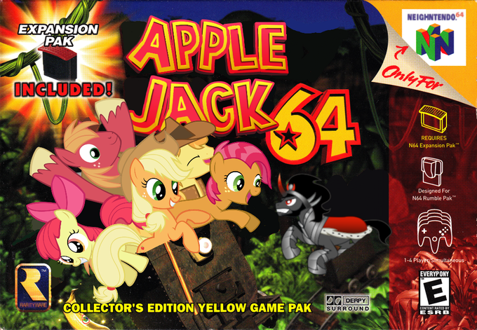 AJ, Apple Jack! AJ, Apple Jack is here!