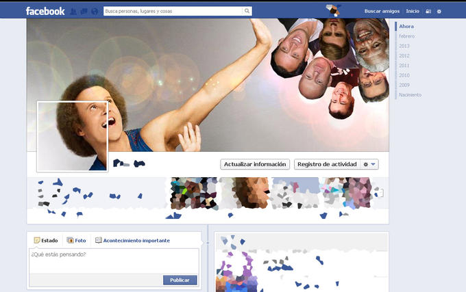 Brutal Gay Facebook Timeline cover