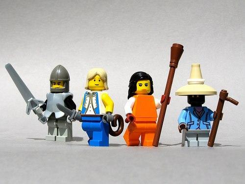 Lego Final Fantasy IX Characters
