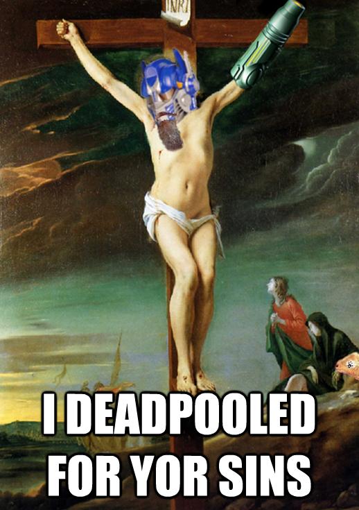 The Deadpooling Of Super Robo Jesus.