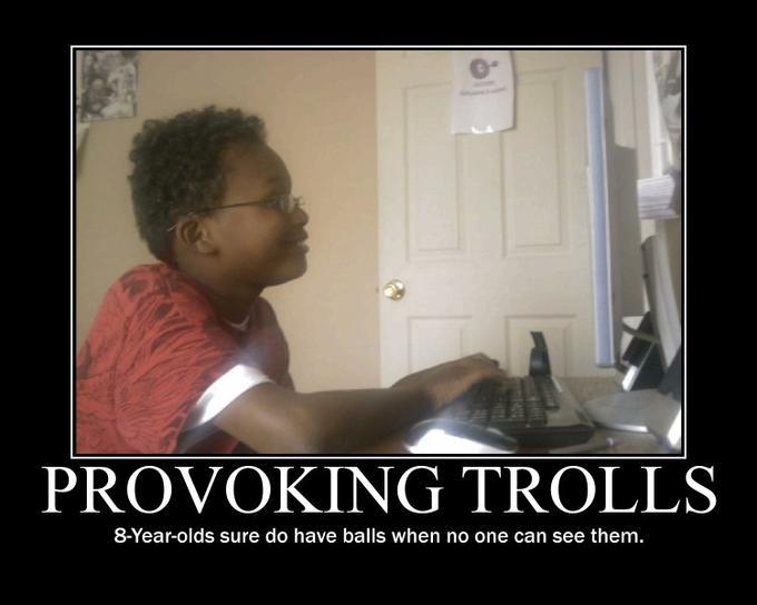 Provoking Trolls